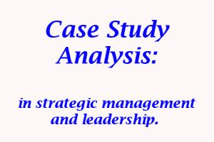 Portfolio for Case study analysis