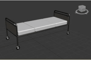 Portfolio for 3d model medical related objects