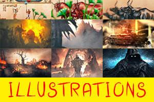 Portfolio for ILLUSTRATIONS