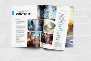 Portfolio for Magazine Designing