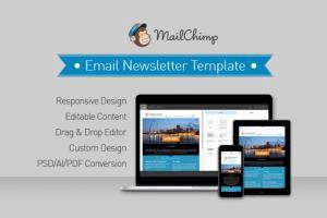 Portfolio for HTML Email Newsletter