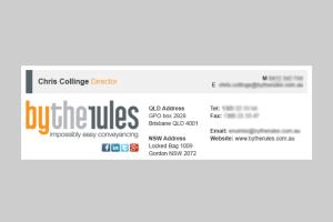 Portfolio for HTML Email Signature