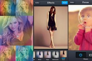 Portfolio for Photo Editor Lite