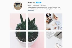 Portfolio for Instagram Content Creator
