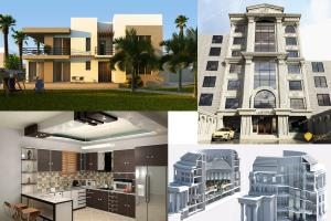 Portfolio for 3d Modeling,Interior Design,3d Rendering