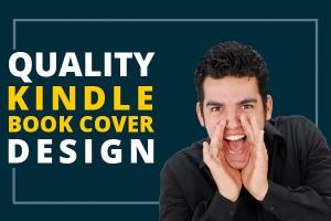 Portfolio for Kindle Book Cover Design