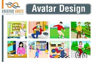 Portfolio for Avatar Design