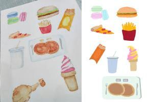 Portfolio for Convert sketches to digital illustration