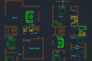 Portfolio for I Will Draw Your Autocad 2d Drawing