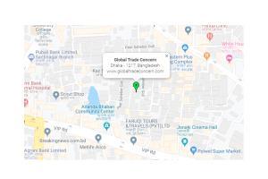 Portfolio for Integrate dynamic google map on website