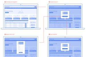 Portfolio for I Will Create App or Website Wireframes