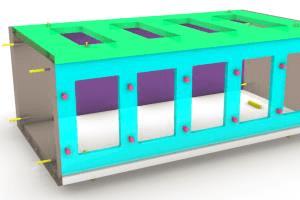 Portfolio for Grasshopper and Rhinoceros 3D modelling