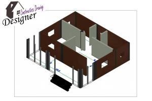 Portfolio for 3d,2d AUTOCAD Drawer