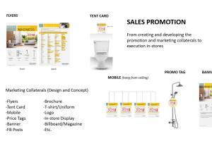 Portfolio for Marketing/Sales/Administrative Services