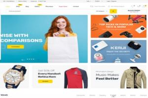 Portfolio for E-Commerce Website Development