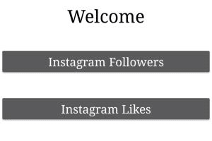 Portfolio for Instagram followers