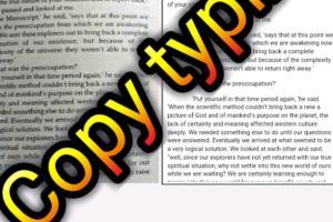 Portfolio for I will do Copy typing