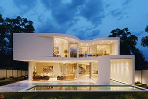 Portfolio for Architect, Interior Designer, 3D Artist
