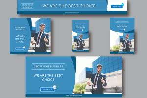 Portfolio for I will design creative google banner ads