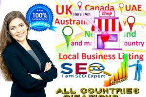 Portfolio for Create 350 Citations for Local business