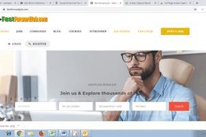 Portfolio for create Job Portal Website On Wordpress