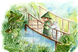 Portfolio for Traditional watercolor book illustration