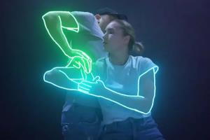Portfolio for neon effects glow effect blotter effects