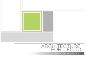 Portfolio for Designer, architect,
