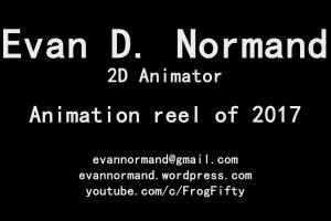 Portfolio for 2D animation and illustration