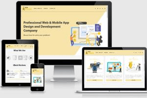 Portfolio for Web & Mob App Developer