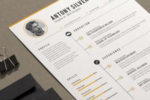 Portfolio for CV and Resume designer