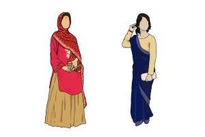 Portfolio for Detailed faceless figures