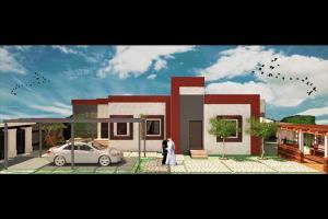 Portfolio for Design exterior and interior decoration