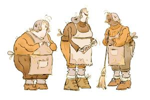 Portfolio for Character design, Illustrator, Animation