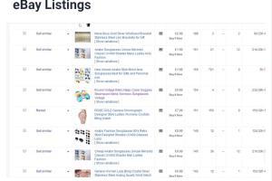 Portfolio for Amazon and Ebay Product Specialist