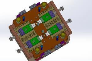 Portfolio for Design of Injection/Plastic Mould