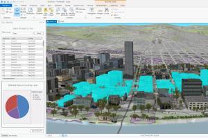 Portfolio for Geographic Information System (GIS)