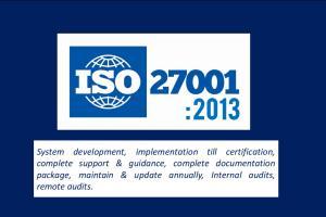 Portfolio for ISO27001,Information Security Management