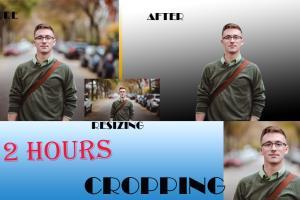 Portfolio for I will resize, cut, crop photo