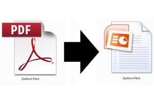 Portfolio for PDF Edit/Conversion