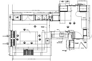 Portfolio for freelance millwork shop drawings