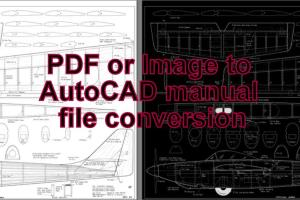 Portfolio for I will make editable 2D file In AutoCAD
