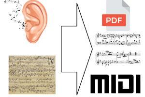 Portfolio for Music transcription