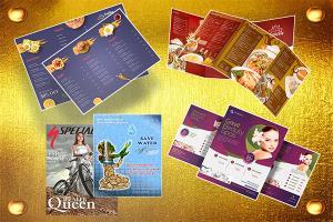 Portfolio for Brochure, Flyer, Poster and Social Media
