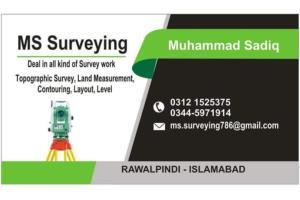 Portfolio for Land surveyor