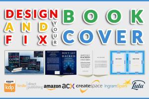 Portfolio for Fix, Edit, Modify and Design Book Cover