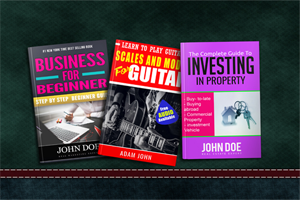 Portfolio for professional kindle, eBook cover design