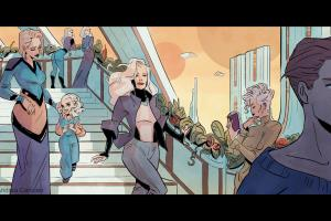 Portfolio for Comic Book Artist/ Illustrator