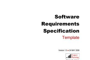 Portfolio for Software Requirement Specification   SRS