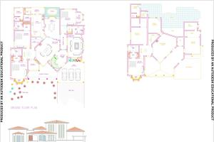 Portfolio for Auto cad architecture drawing 2d plan